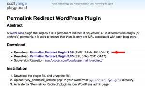 Permalink Redirect Download